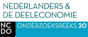 NCDO Nederlanders & de deeleconomie