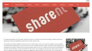 shareNL | nieuwe website | 16 05 2014